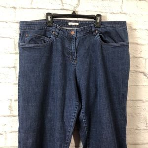 EILEEN FISHER Plus Size High Rise Bootcut Jeans XL